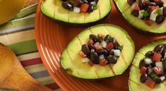 Grilled Avocado with Black Bean Salsa | Veganuary