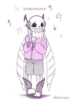 I like this AU,sans,underbeats