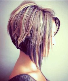 The Angled Bob Hairstyle