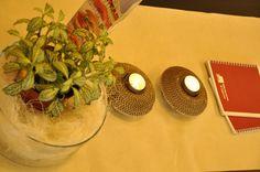 EMTEA Bílá kavárna a čajovna_RECIRCLED TEALIGHT HOLDER / svícen s kartónu - Design Moniek Vanden Berghe
