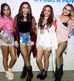 Little Mix Backstage at Cornetto