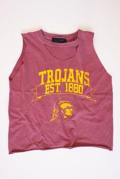 USC Trojans Vintage Tee