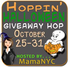 Hoppin' Halloween #Giveaway US/CAN (10/31)