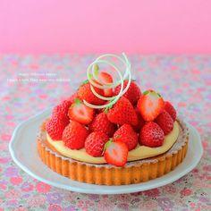 Tarta de fresa ♪ de Temporada