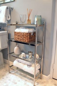 Bathroom Decor and Storage Solutions — Redefining Domestics Bathroom Standing Shelf, Bathroom Organisation, Organization, Vintage Bathroom Decor, House Essentials, Glam Room, Upstairs Bathrooms, Aesthetic Bedroom, Home Decor Furniture
