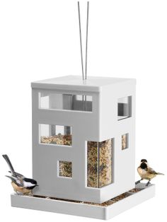 Umbra Bird Cafe Feeder - White - Free Shipping