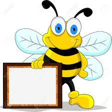 Free for personal use Honey Bee Clipart of your choice Bumble Bee Clipart, Name Tag For School, Cartoon Bee, Bee Illustration, Birthday Charts, Bee Photo, Cute Bee, Bee Theme, Art Clipart