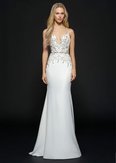 Bridal Gowns and Wedding Dresses by JLM Couture - Style 6659 Edie