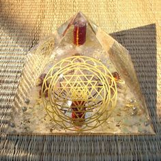 Sri Chakra Orgonite Pyramid