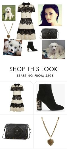 """""""A girl and her puppy"""" by charliekittylol ❤ liked on Polyvore featuring RED Valentino, Old Trend and Etro"""