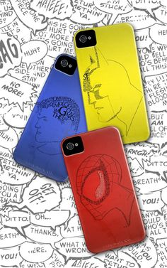 Superheroes iPhone cases