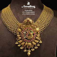 Jewellery Designs - Page 5 of 1580 - Latest Indian Jewellery Designs 2019 ~ 22 Carat Gold Jewellery one gram gold Gold Earrings Designs, Gold Jewellery Design, Necklace Designs, Gold Designs, Gold Jewelry Simple, Trendy Jewelry, Indian Wedding Jewelry, Bridal Jewelry, Jewelry Patterns