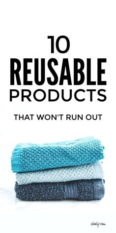 We can actually buy or DIY all sorts of reusable products that won't run out from nappies and make up remover rounds to toilet paper - yep .