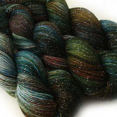 TdF SALE merino nylon stellina sock yarn HYPOCRITE fingering weight 3.5oz / 435 yards on Etsy, $20.00