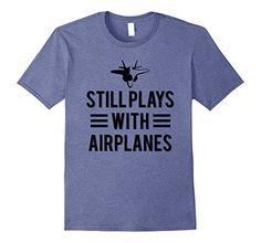 Mens Still plays with Airplanes T-Shirt 2XL Heather Blue ... https://www.amazon.com/dp/B073RPWWJG/ref=cm_sw_r_pi_dp_x_cUlEzbH7CDQ25