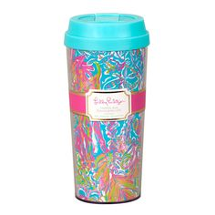 Lilly Pulitzer Thermal Mug- Scuba to Cuba from Shop Southern Roots TX