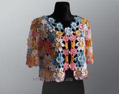 Crochet Pattern . Dress No 233. Sizes XS to by CrochetDressPattern