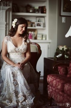 Claire Pettibone Madame Butterfly Wedding Dress $4,000