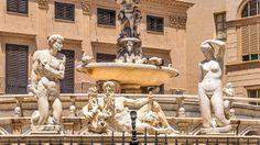 Die Fontana Pretoria - im Volksmund auch 'Brunnen der Sünde' genannt