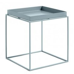 Tray Table Medium Square W40 x D40 x H40/44cm by HAY - CoffeeTables - Tables - Furniture