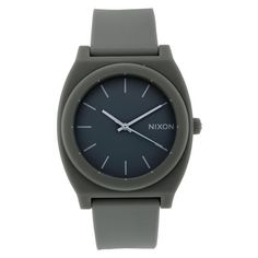 Men's Wrist Watches - Nixon Mens A119026 Resin Analog with Grey Dial Watch ** You can get additional details at the image link.