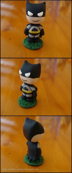 Clay Batman by Bubble-Chubi.deviantart.com on @deviantART