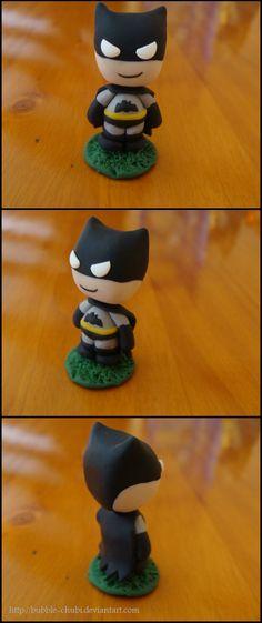 Clay Batman by Bubble-Chubi.deviantart.com on @deviantART
