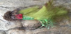 Nate's Fatty Flies: Bass Muddler, Fishing Fly, Bass fly, Top Water Fly , Deer Hair Poppers, Floating Bass Fly, Frog Diver by Natesfattyflies on Etsy