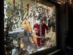 Prior Christmas Window Display