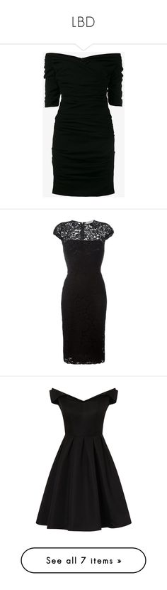 """LBD"" by amberwaves74 ❤ liked on Polyvore featuring dresses, dresses short, black, off the shoulder cocktail dress, short cocktail party dresses, holiday party dresses, short evening dresses, sweetheart neckline cocktail dress, short dresses and fitted dresses"