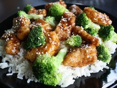 Chinese Chicken & Broccoli one of my fave foodies :) Think Food, I Love Food, Chicken And Brocolli, Chicken Salad, Chinese Chicken, Chinese Food, Sesame Chicken, Sesame Beef, Chinese Party