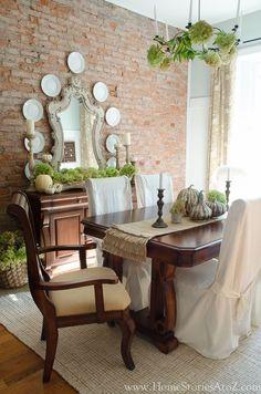 fall dining room ideas