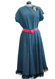 Plus size retro style dress