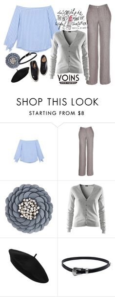 """""""Yonis Blouse"""" by jelena-topic5 ❤ liked on Polyvore featuring Moschino, H&M and Eytys"""