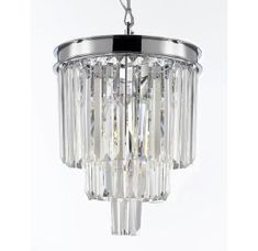 View the Gallery T40-638 3 Light 3 Tier Crystal Chandelier at Build.com.
