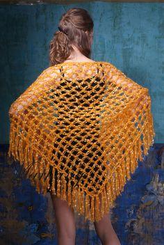 Uncinetto d'oro: Bellissima scialle!!!