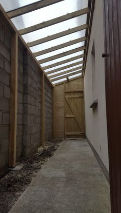 Shed Design, House Design, Outdoor Laundry Rooms, Side Walkway, Lean To Shed, House Extension Design, Outdoor Buildings, Design Jardin, Backyard Patio Designs