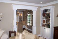 Love the molding around this doorway! by eddie