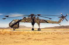68-18448 CH-54A 113th Aviation Regiment, Nevada Army National Guard, Reno-Stead Airport.