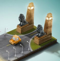 Mobinil Taree2y mobile application print ad by Ahmad Solyman, via Behance