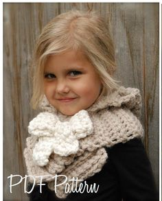 CROCHET PATTERN Hadyen Hood Toddler Child Adult sizes