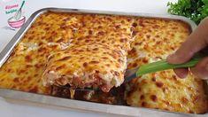 Fırında LOKUM Gibi💯Tavuklu BUĞU Kebabı😋Beşamel Soslu💖💖Denemeden Geçme👌👌Efsane Tarifler - YouTube Quick Meals, Lasagna, Cheese, Dinner, Ethnic Recipes, Food, Savory Snacks, Chicken, Dining