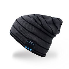 Bluetooth Hat,Mydeal Adult Unisex Trendy Soft Warm Knit Slouchy Beanie Skully Hat with Wireless Headphone Headset Speaker Mic Hands-free,Christmas Gift for Winter Outdoor Sport Skiing Snowboard - Gray MyDeal Products http://www.amazon.com/dp/B00SBDDXCK/ref=cm_sw_r_pi_dp_a2wkwb0CKGYKT