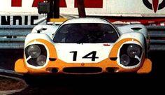 Rolf Stommelen / Kurt Ahrens Jr., #14 Porsche 917L (Porsche System Engineering), 24 Hours Le Mans 1969 (DNF)