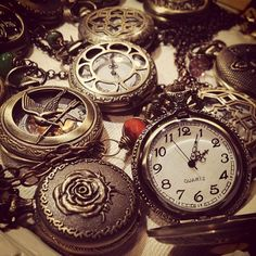 Pocket watches at the Spruce Meadows International Christmas Market, Calgary AB