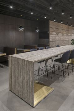 Office interior project by ARCH(E)TYPE. #archetype #office #interior #lightning
