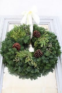 Fresh Traditional Christmas Wreaths that will fill your home with the scents of the mountain air