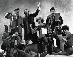 A Midsummer Night's Dream, 1989 Allan Gray as Tom Snout, Richard Curnock as Peter Quince, Keith Dinicol as Nick Bottom, Nolan Jennings as Robin Starveling, William Dunlop as Snug and Antoni Cimolino as Francis Flute  Director:  Richard Ouzounian Designer:  Sue LePage Photographer:  Robert C. Ragsdale