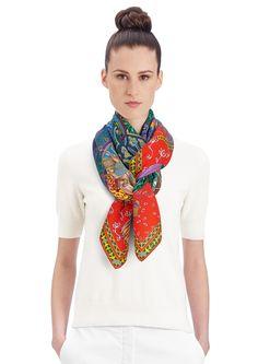 4a8227123069 73 mejores imágenes de Woman scarf   Womens scarves, Neck scarves y ...