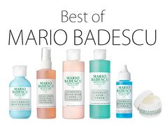 Mario Badescu was introduced to me when I started working as a makeup artist. The boutique where I worked had the entire line, and after a few samples I was completely addicted. One great thing about...